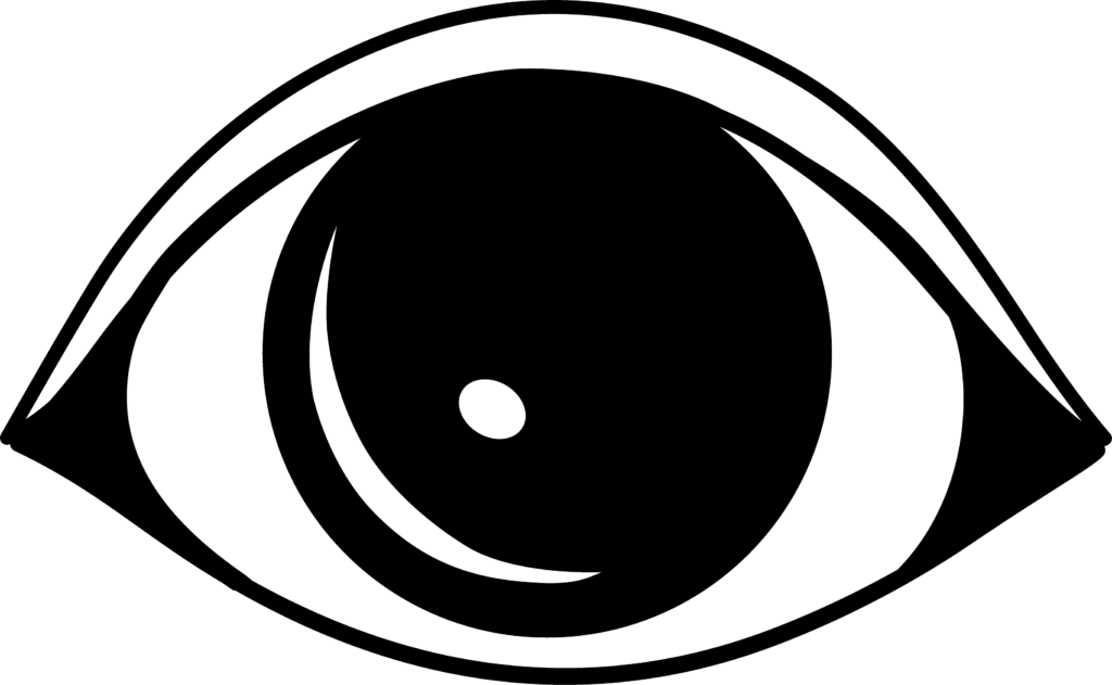 image black and white stock Eyeballs clipart eye outline FREE for download on rpelm