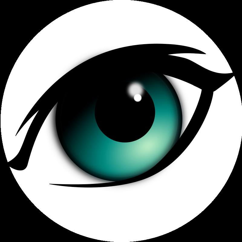 jpg transparent library Animal Eyeball Cliparts