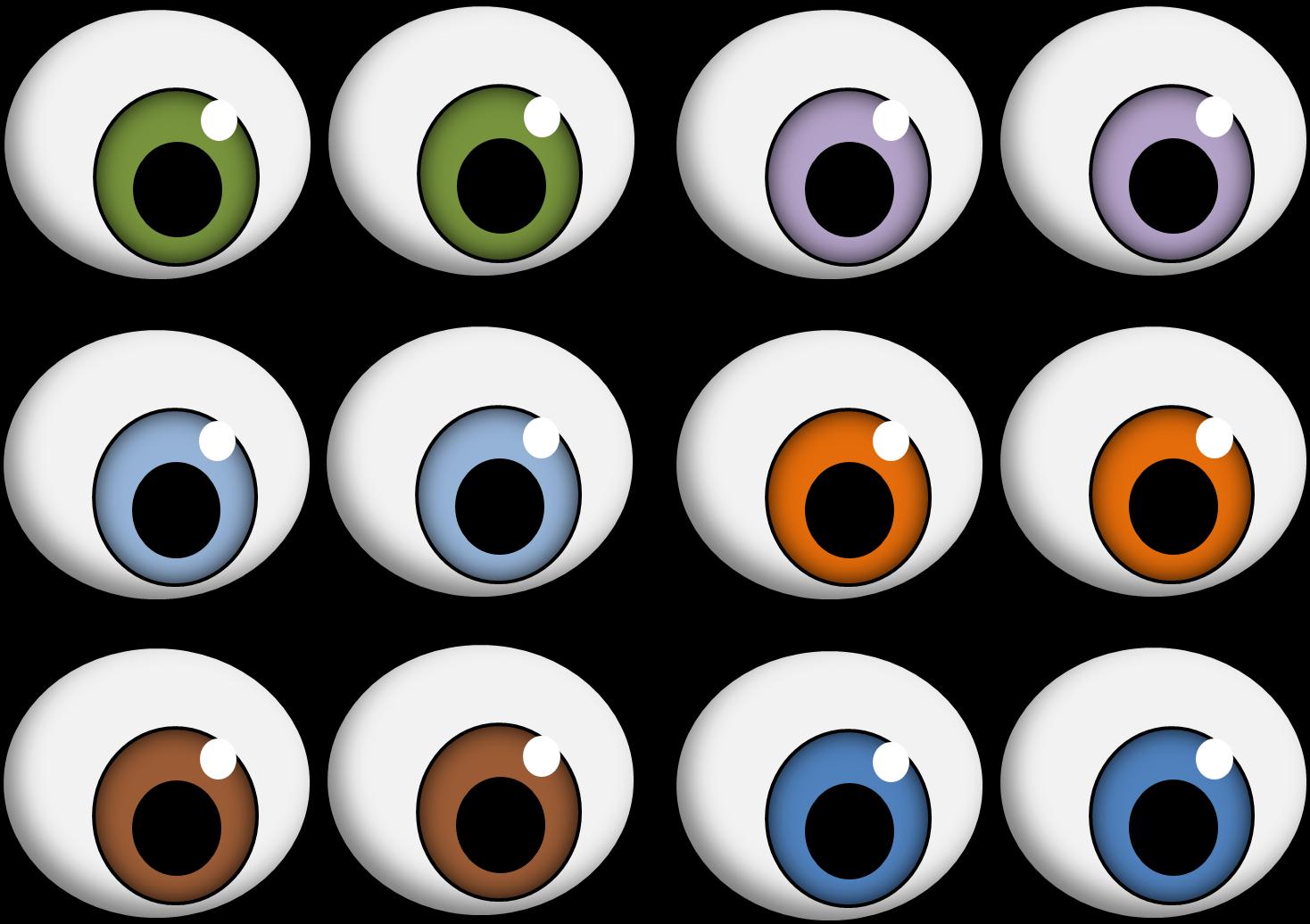 image library Eye clipart children