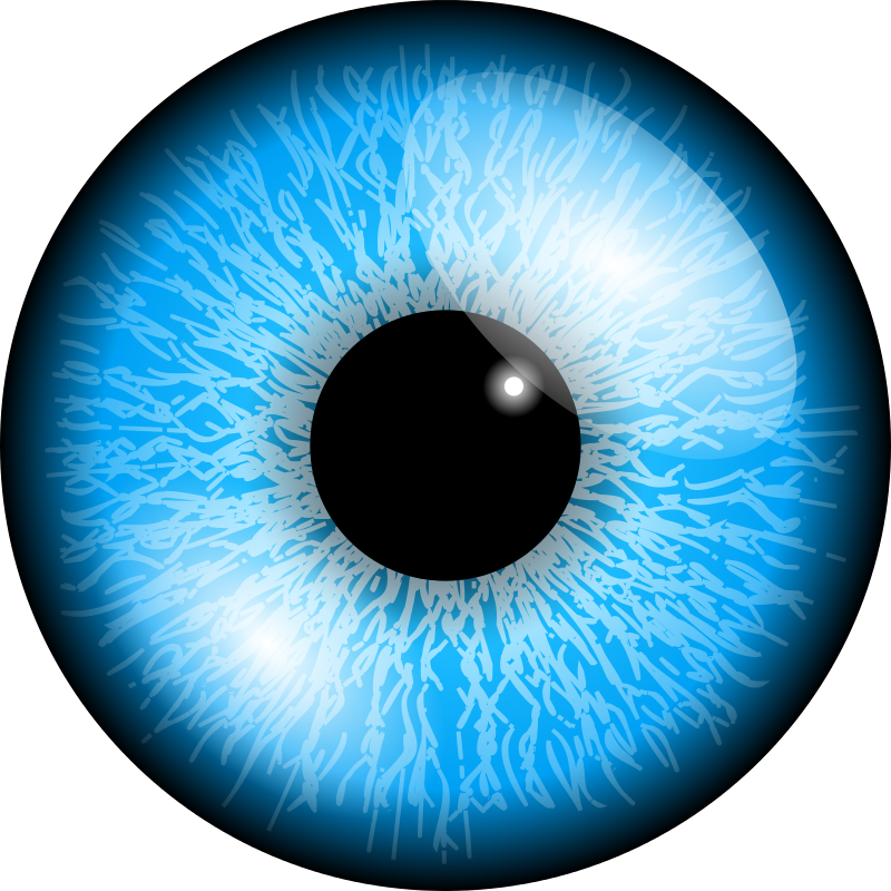 jpg royalty free download Blue Eyes clipart shocked eye