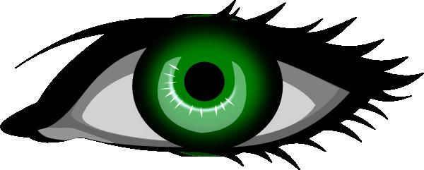 svg free Green Eyes Clipart big eye
