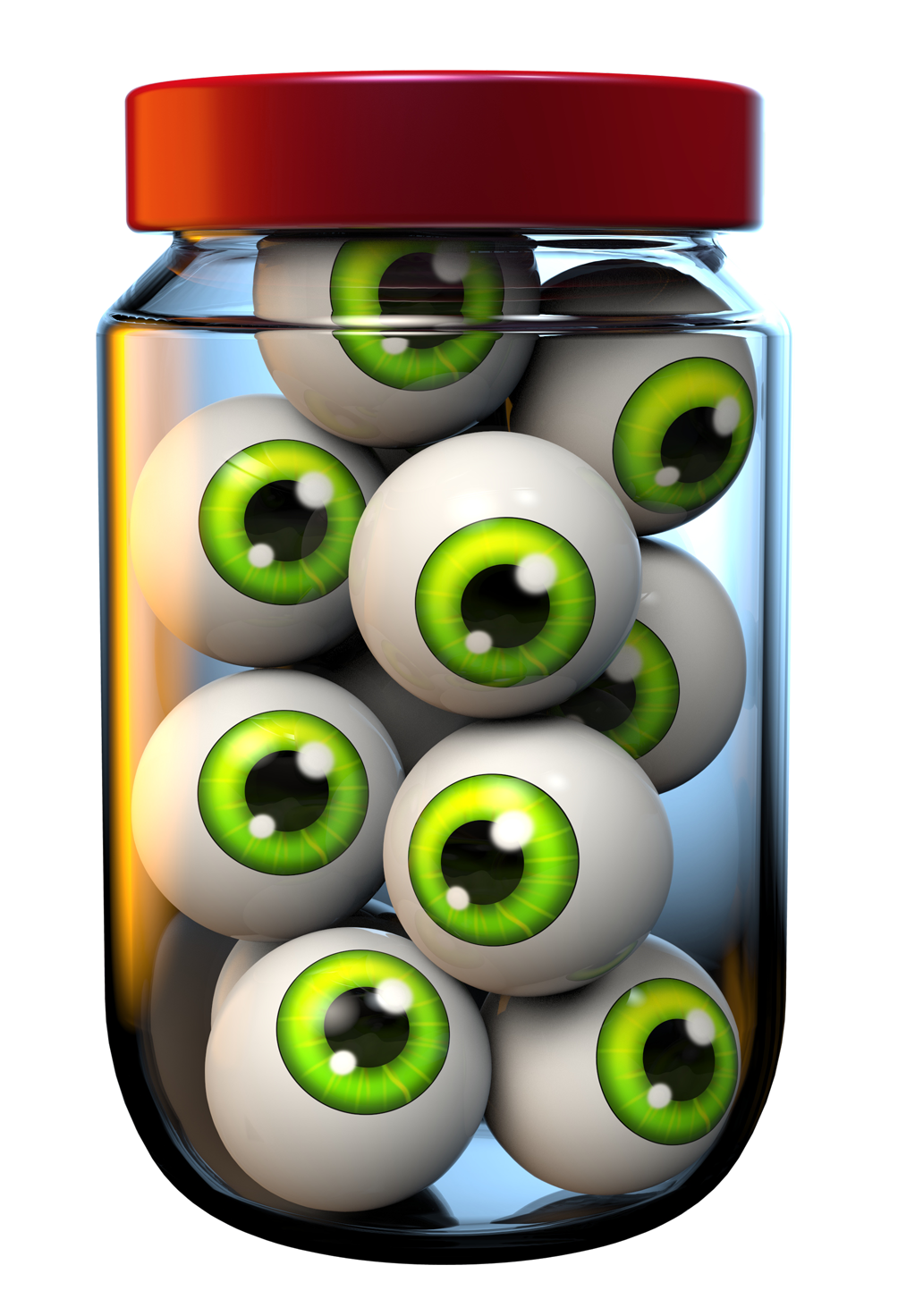 image Halloween jar of png. Eyeballs clipart