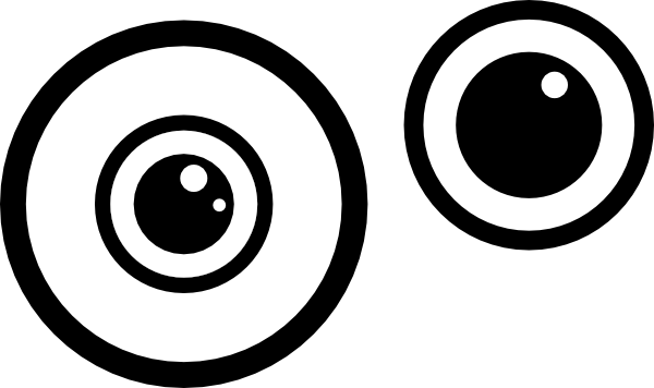 svg free download Eyeball eye clipart black and white free images