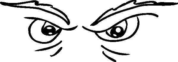 vector Scary Eyes Clip Art at Clker