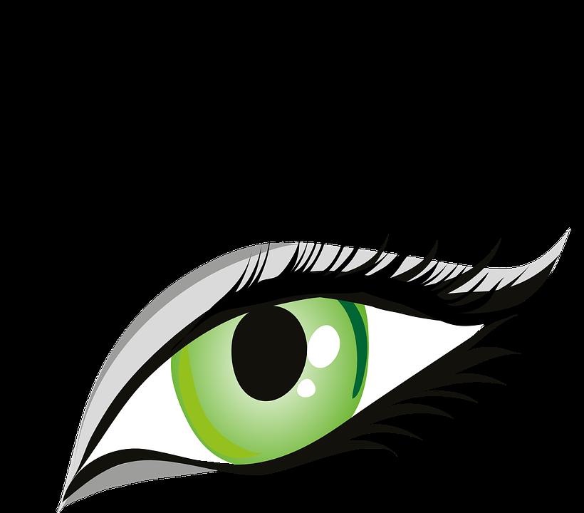 clip Human Eye Clipart