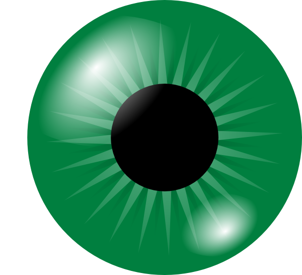 jpg free stock Green Eye Clip Art at Clker