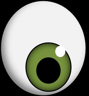 clipart black and white download Eyeball clipart monster eyes