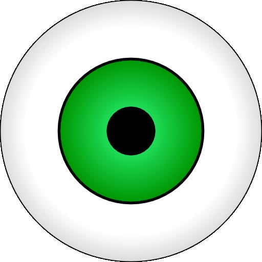 clip art transparent library Olhos Verdes Green Eye Clipart