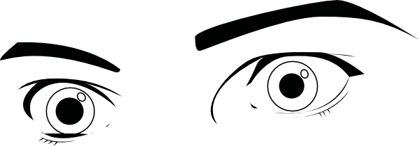 graphic free library Eyeball clipart wide eye