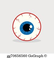 clip black and white library Eyeball clipart. Clip art royalty free