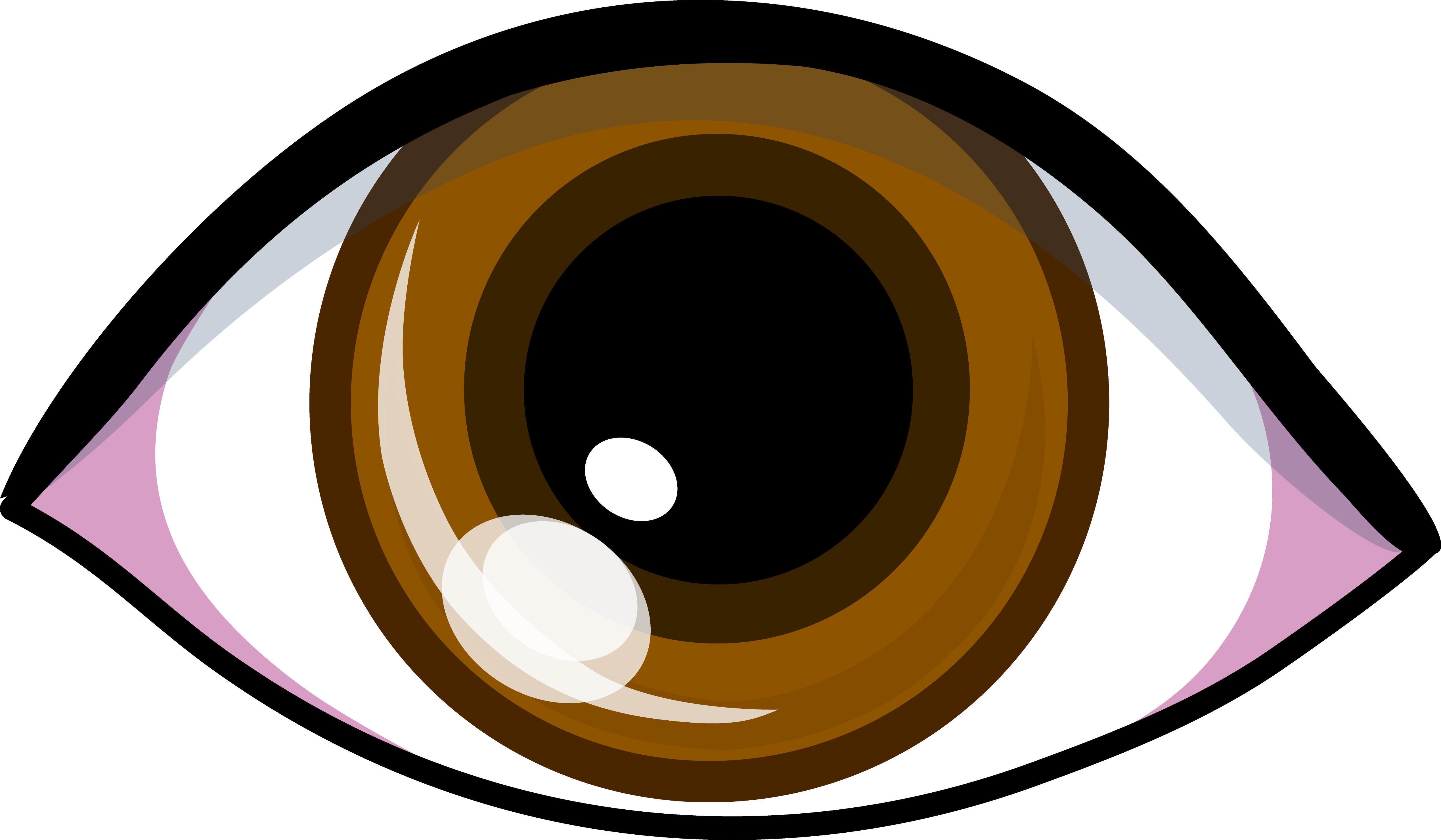 royalty free library Brown Eyes Clipart