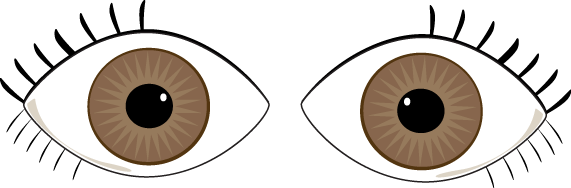clipart transparent Brown Eyes