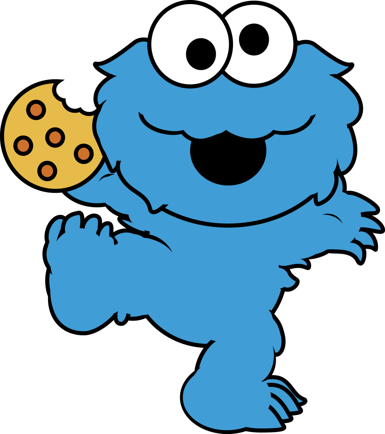 clipart free library cookie monster