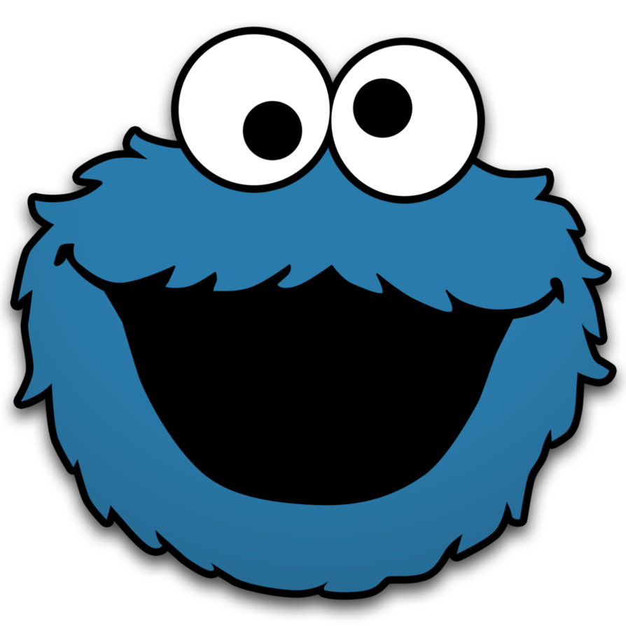 png freeuse library Eyeballs clipart cookie monster. Theretroinc on etsy pinterest