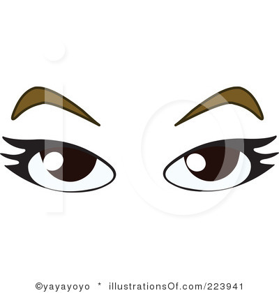freeuse stock Eyeballs clipart kilay. Free brown eyes download