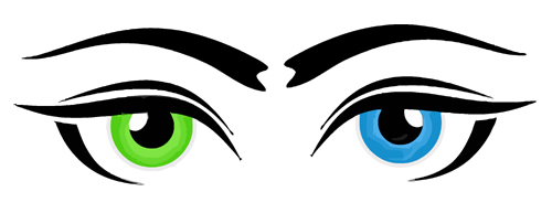 freeuse stock Free brown eyes download. Eyeballs clipart kilay