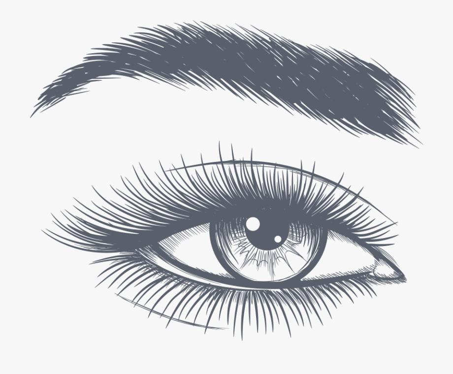 image free download Eyebrow clipart. Eyelash abstract black and.