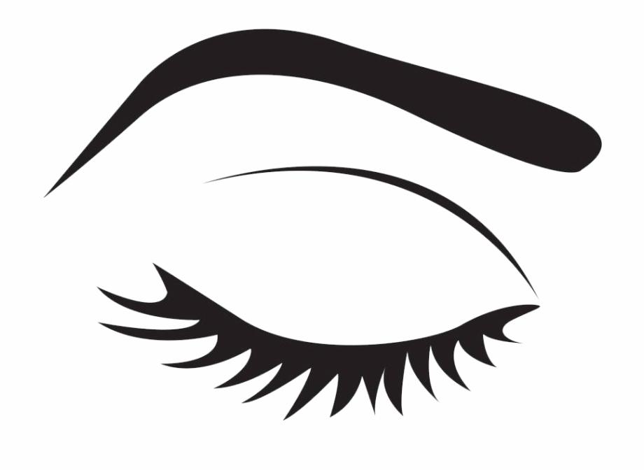 clipart transparent stock Anime cartoon makeup icon. Eyebrow clipart.