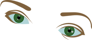 svg transparent Eyebrow clipart. Eyes and eyebrows clip.