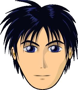 jpg free stock Adult Person Anime Cartoon Head Clip Art at Clker