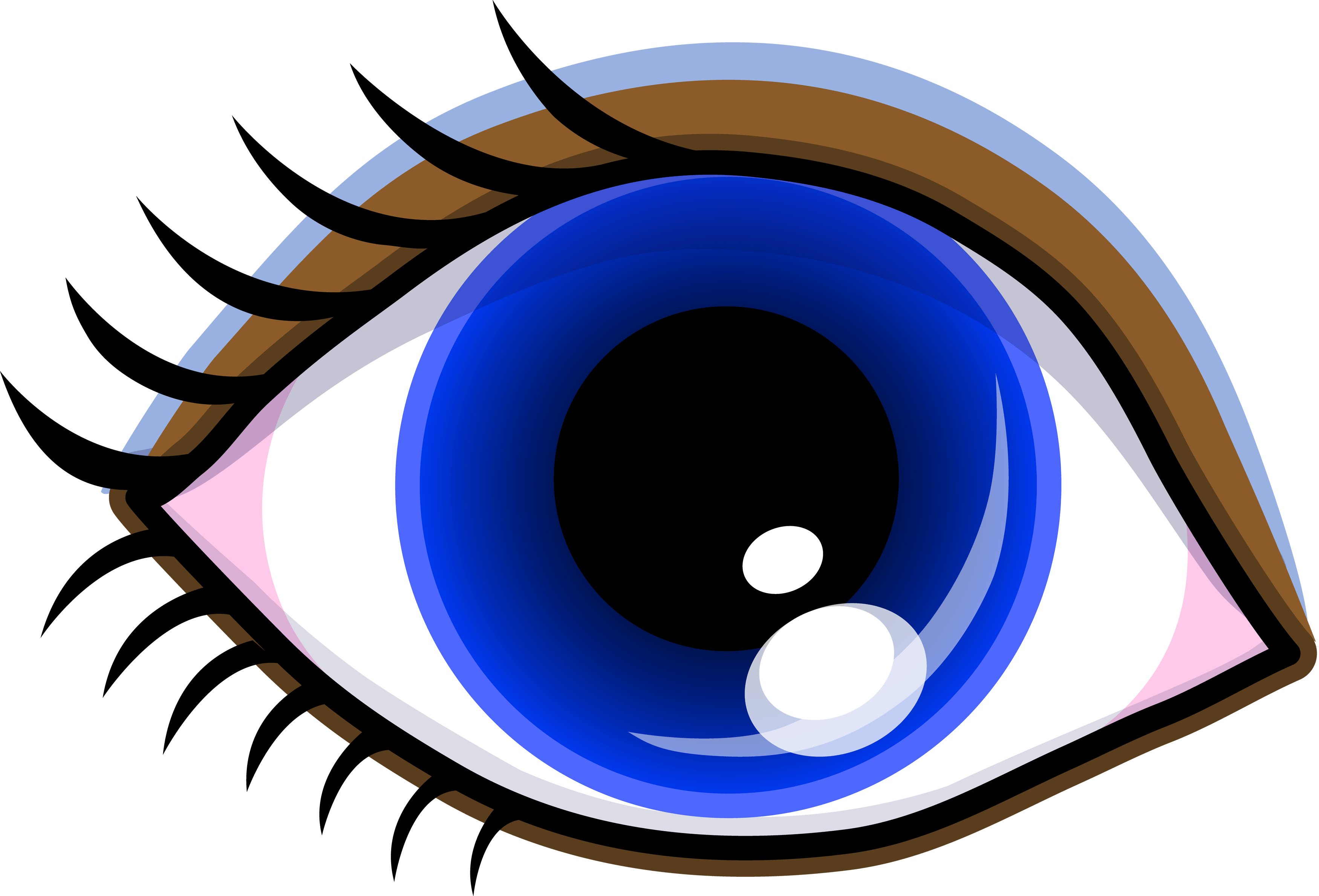 clipart transparent library Anime Eyes Clipart at GetDrawings