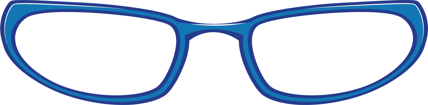 clip art royalty free download Round panda free images. Eye glasses clipart