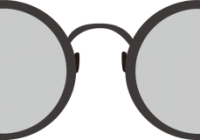 clipart freeuse download Nerd clipart black and white. Glasses famous best for.
