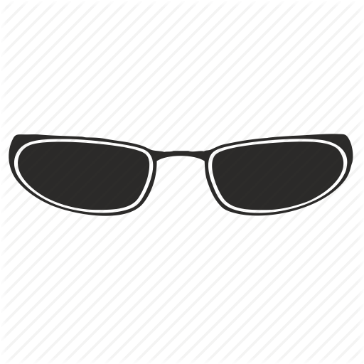 black and white stock Optic glasses
