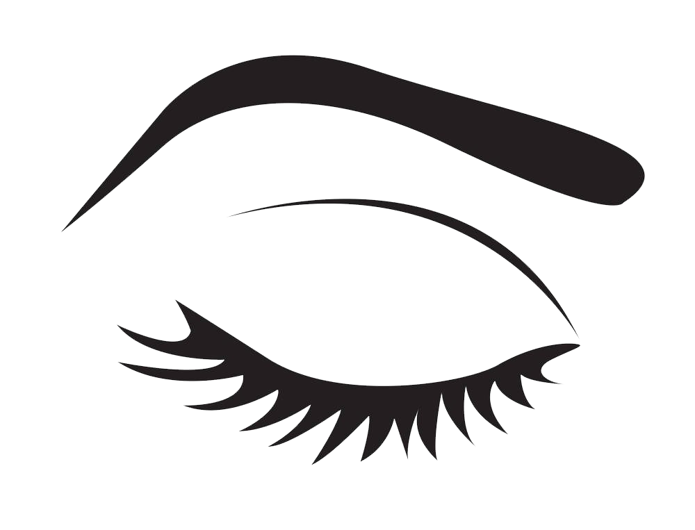 vector freeuse library Eyelash clipart. Extensions stock photography clip.