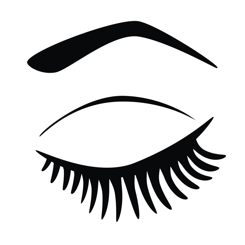 graphic freeuse download Extensions clip art hand. Eyelash clipart.
