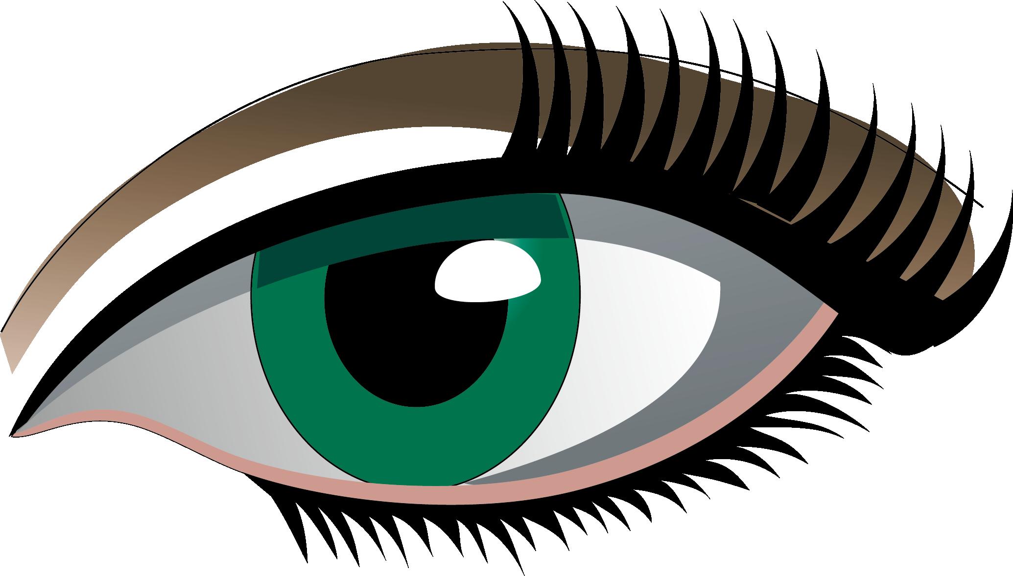 clipart library stock Eyelash Clipart simple eye