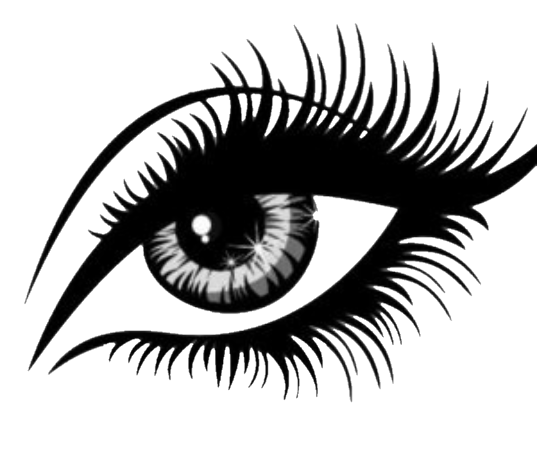 vector royalty free download Types drawing real life eye. Eyelash clipart eyebrow threading
