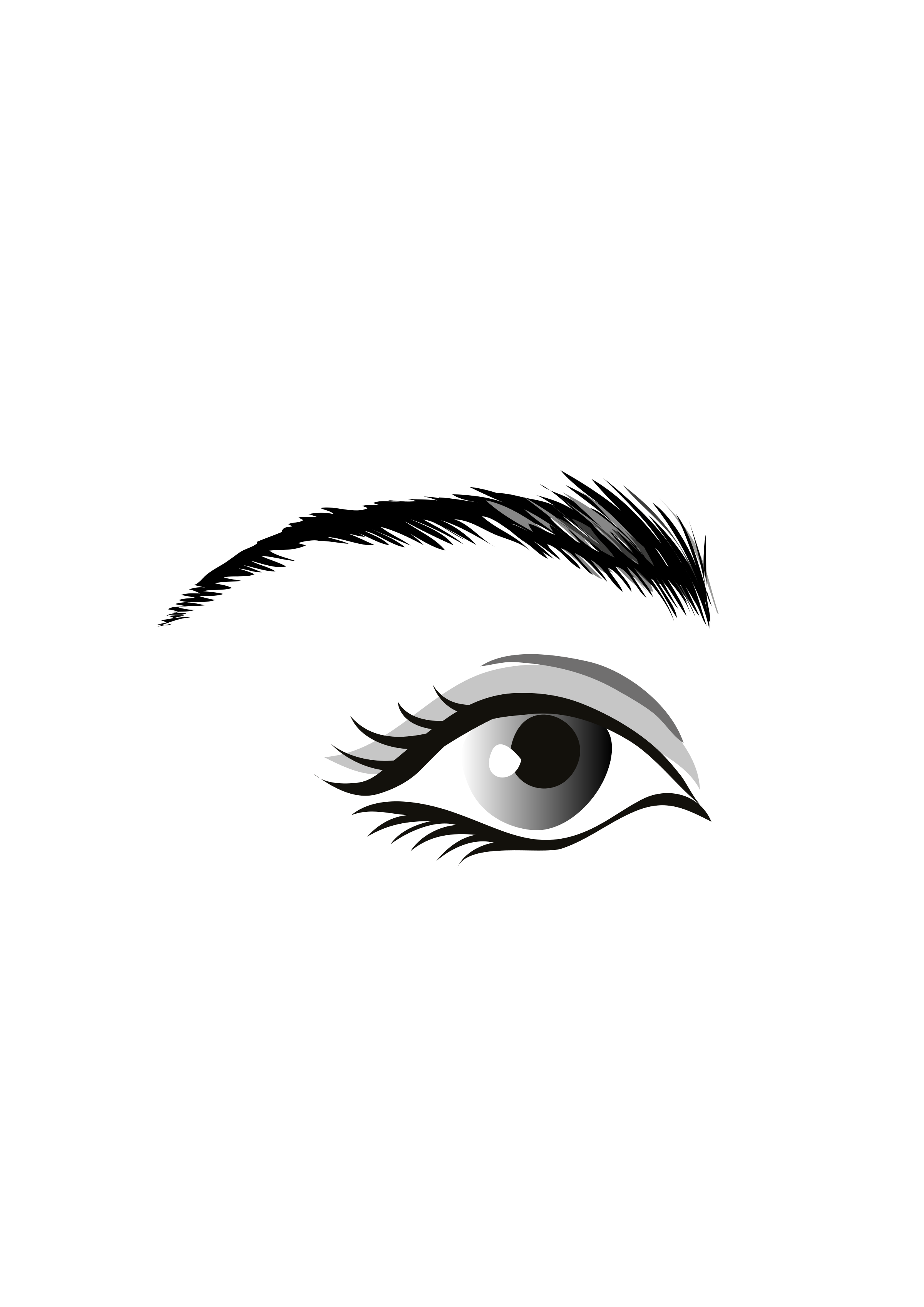 глаза черно белые рисунки живу москве