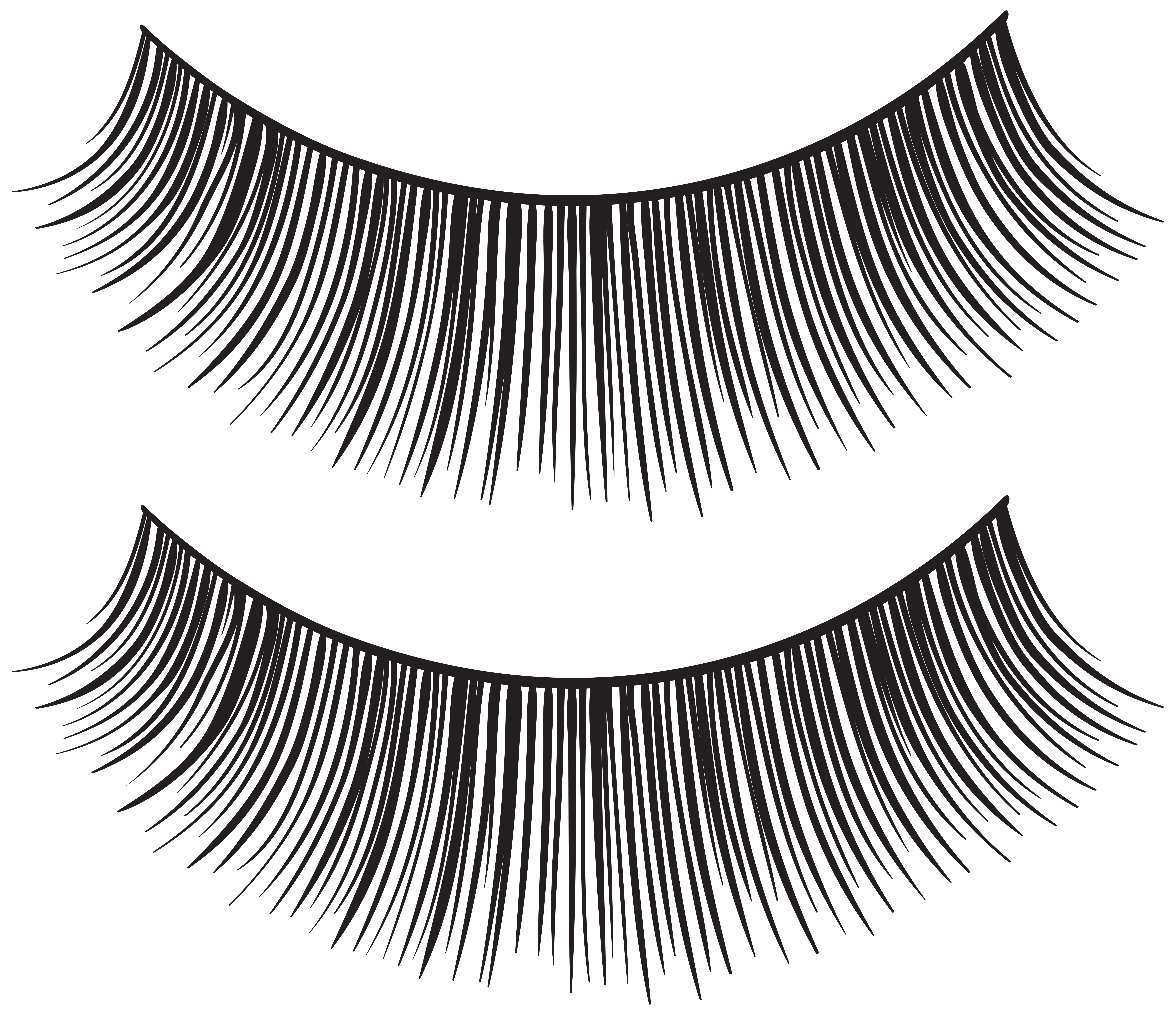 clipart royalty free library Eyelash clipart.  collection of eyelashes.