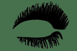 vector freeuse Classis Eyelash transparent PNG