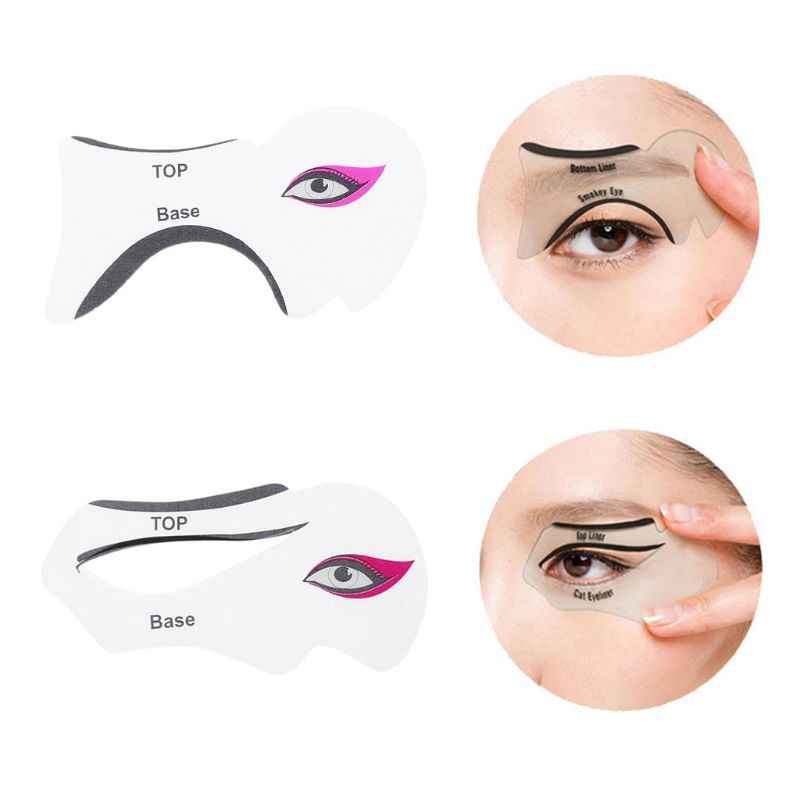 clip transparent library  pcs template cards. Eyeliner drawing.