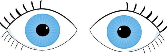 picture transparent download Eyes clipart. Pair of .