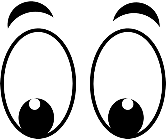 clip library download Eyes clipart black and white.  collection of happy