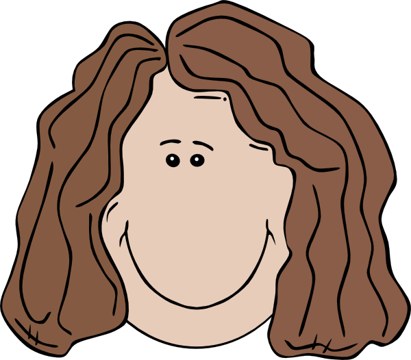 vector Smiling faces group face. Sadness clipart female depression