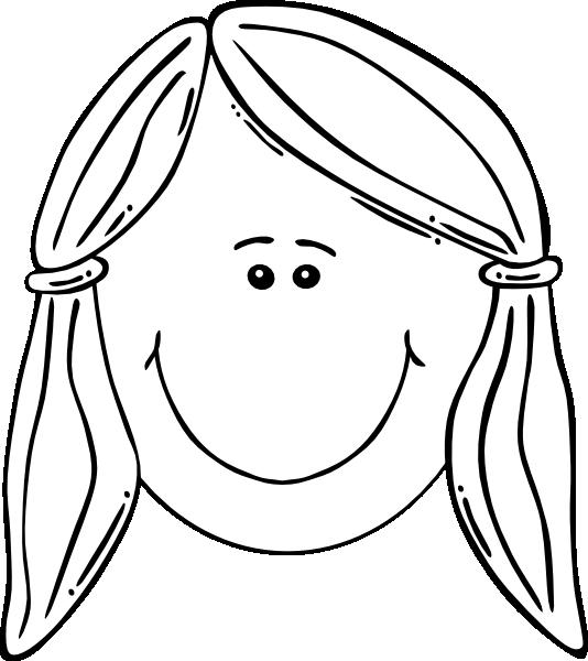 free library Smiling Girl Face Balck