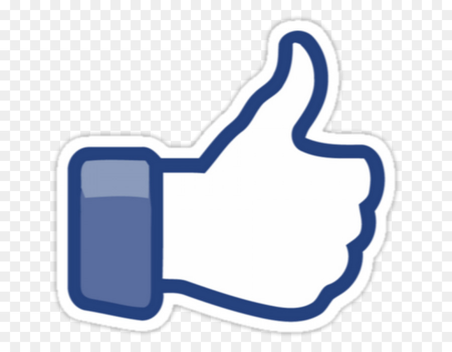 image transparent Facebook like clipart. Button hand product