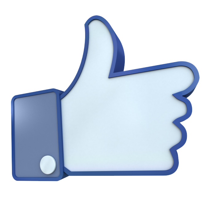graphic transparent library Facebook like clipart. D