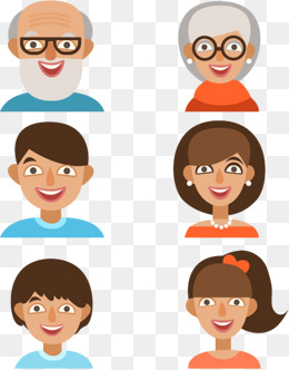 image transparent library Download free png members. Faces clipart family member