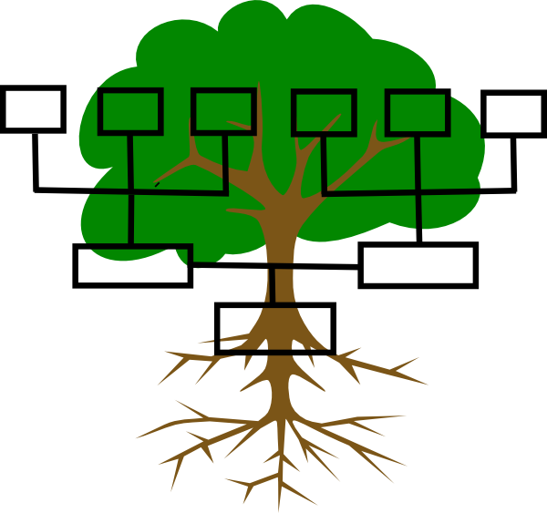graphic library stock Family Reunion Tree Clip Art