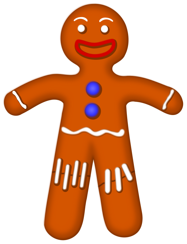 banner free library free gingerbread men clipart #63807210