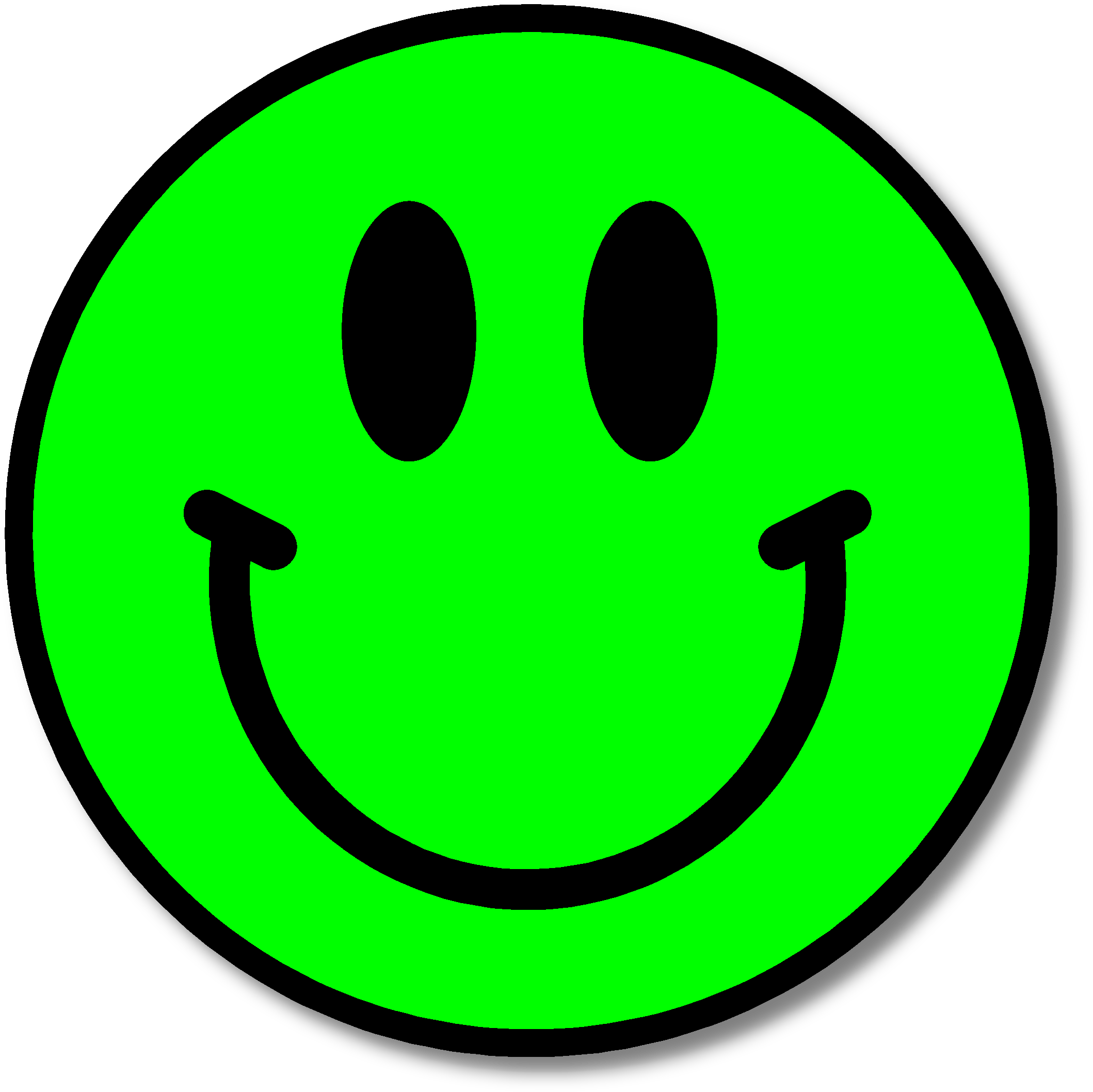 svg free stock Yes clipart smiley face. This is for the