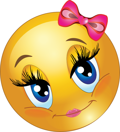 vector freeuse Writer clipart face smiley. Cute girl faces lovely
