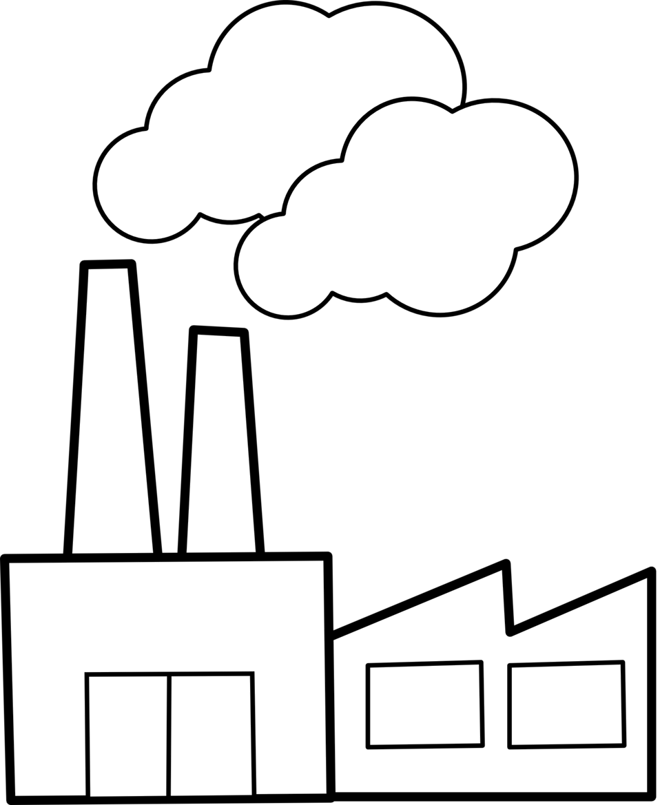 banner stock Factories clipart. Public domain clip art