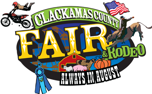 picture black and white library Clackamas County Fair