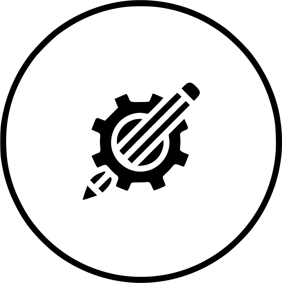 free library Drawing Pencil Geometry Setting Gear Design Svg Png Icon Free